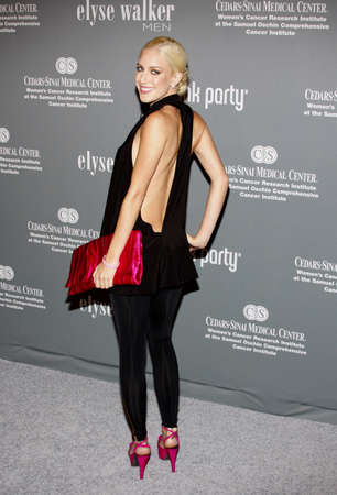 Heidi Montag at the 4th Annual Pink Party held at the Hanger 8 in Santa Monica, California, United States on September 13, 2008.