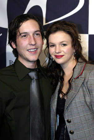 marquette: Chris Marquette and Amber Tamblyn at the Big Brothers Big Sisters of greater Los Angeles & the Inland Empire to honor top entertainment industry talent at Rising Stars 2004 Gala at the Beverly Hilton Hotel in Beverly Hills, USA on November 11, 2004.