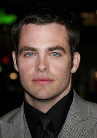 Chris Pine at the Los Angeles premiere of Smokin Aces held at the Graumans Chinese Theatre in Hollywood, USA on January 18, 2007.