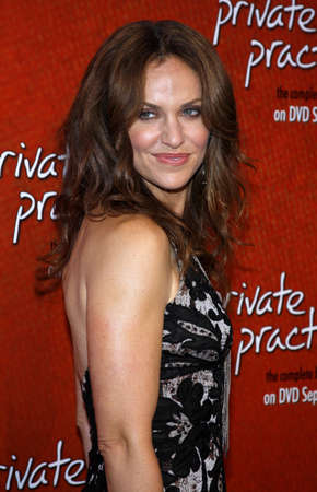 Amy Brenneman at the Season One DVD Launch of Private Practice held at the Tropicana Bar, Roosevelt Hotel in Hollywood, USA on September 2, 2008.