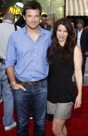 amanda: Jason Bateman and wife Amanda Anka at the Los Angeles premiere of Step Brothers held at the Mann Village Theater in Westwood, USA April 15, 2008. Editorial