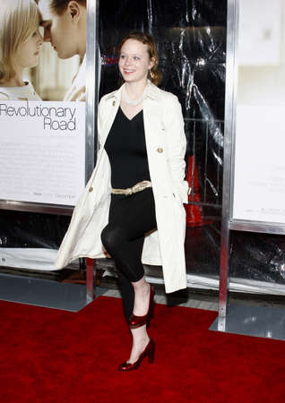 Thora Birch at the World premiere of