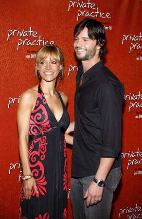 Jason Behr and KaDee Strickland at the Season One DVD Launch of Private Practice held at the Tropicana Bar, Roosevelt Hotel, Hollywood, USA on September 2, 2008. Editorial