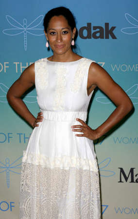 Tracee Ellis Ross at the Women In Film Presents The 2007 Crystal and Lucy Awards held at the Beverly Hilton Hotel in Beverly Hills, USA on June 14, 2006. Editorial