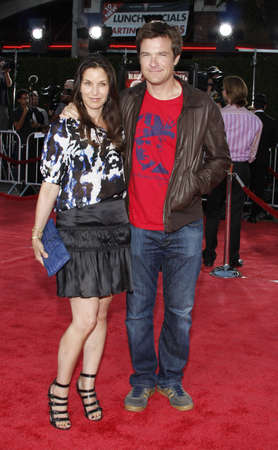 amanda: Jason Bateman and wife Amanda Anka at the Los Angeles Premiere of Tropic Thunder held at the Mann Village Theater in Westwood, USA on August 11, 2008.