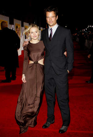 when: Kristen Bell and Josh Duhamel at the World Premiere of When in Rome held at the El Capitan Theater in Hollywood, USA on January 27, 2010.
