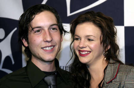 Chris Marquette and Amber Tamblyn at the Big Brothers Big Sisters of greater Los Angeles & the Inland Empire to honor top entertainment industry talent at Rising Stars 2004 Gala at the Beverly Hilton Hotel, USA on November 11, 2004. Editorial