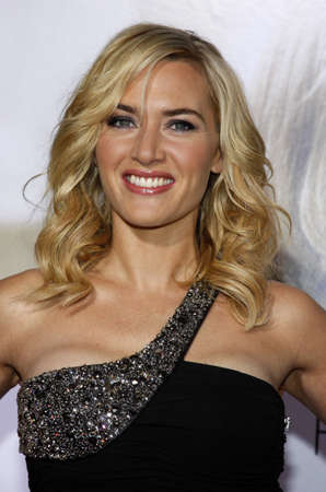 Kate Winslet at the World Premiere of Revolutionary Road held at the Mann Village Theater in Westwood, USA on December 15, 2008.