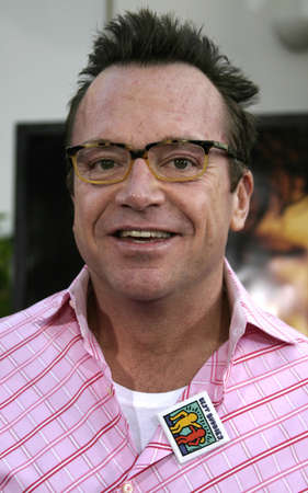 gibson: Tom Arnold at the Los Angeles premiere of Cinderella Man held at the Gibson Amphitheatre at Universal City in Hollywood, USA on May 23, 2005.