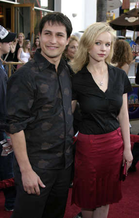 Thora Birch and boy friend at the Los Angeles premiere of