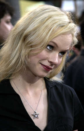 Thora Birch at the Los Angeles premiere of Cinderella Man held at the Gibson Amphitheatre at Universal City in Hollywood, USA on May 23, 2005. Editorial