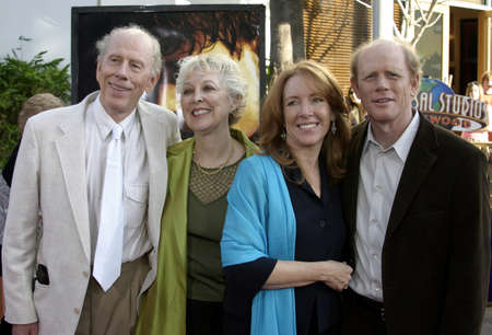 rance: Rance, Judy, Ron and Cheryl Howard at the Los Angeles premiere of Cinderella Man held at the Gibson Amphitheatre at Universal City in Hollywood, USA on May 23, 2005. Editorial