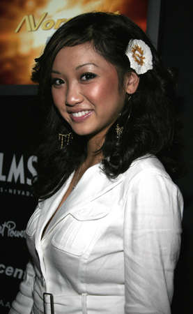 hardy: Brenda Song at Christian Audigier Fashion Show Featuring New Ed Hardy Label in Hollywood, USA on May 21, 2005.