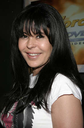 hardy: Maria Conchita Alonso at Christian Audigier Fashion Show Featuring New Ed Hardy Label in Hollywood, USA on May 21, 2005. Editorial