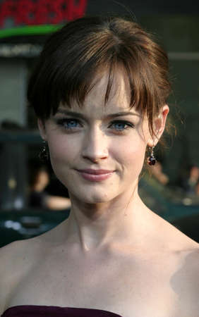Alexis Bledel at the Los Angeles premiere of Sisterhood of the Traveling Pants held at the Graumans Chinese Theatre in Hollywood, USA on May 31, 2005.