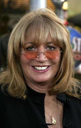Penny Marshall at the Los Angeles premiere of Cinderella Man held at the Gibson Amphitheatre at Universal City in Hollywood, USA on May 23, 2005. Editorial