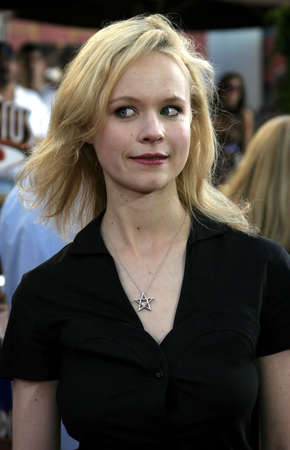Thora Birch at the Cinderella Man Premiere at the Gibson Amphitheatre at Universal City in Hollywood, USA on May 23, 2005. Editorial