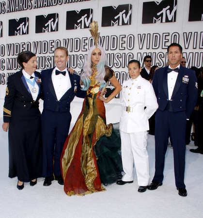 mtv: Lady Gaga at the 2010 MTV Video Music Awards held at the Nokia Theatre L.A. Live in Los Angeles, USA on September 12, 2010.
