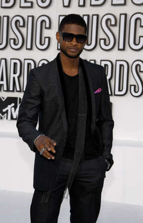 usher: Usher at the 2010 MTV Video Music Awards held at the Nokia Theatre L.A. Live in Los Angeles, USA on September 12, 2010. Editorial