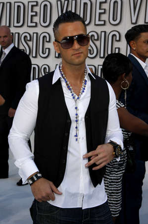 mtv: Mike Sorrentino at the 2010 MTV Video Music Awards held at the Nokia Theatre L.A. Live in Los Angeles, USA on September 12, 2010.