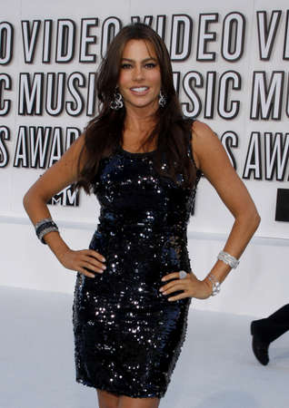 mtv: Sofia Vergara at the 2010 MTV Video Music Awards held at the Nokia Theatre L.A. Live in Los Angeles, USA on September 12, 2010. Editorial
