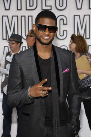 mtv: Usher at the 2010 MTV Video Music Awards held at the Nokia Theatre L.A. Live in Los Angeles, USA on September 12, 2010. Editorial