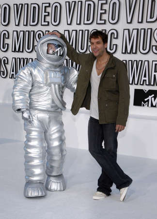Dane Cook at the 2010 MTV Video Music Awards held at the Nokia Theatre L.A. Live in Los Angeles, USA on September 12, 2010.