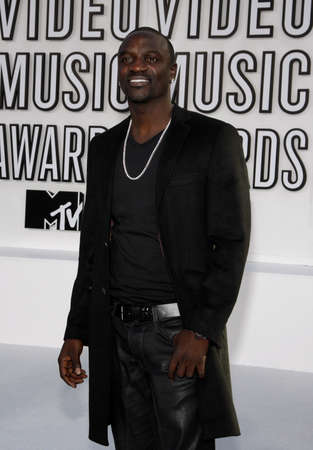 mtv: Akon at the 2010 MTV Video Music Awards held at the Nokia Theatre L.A. Live in Los Angeles, USA on September 12, 2010.