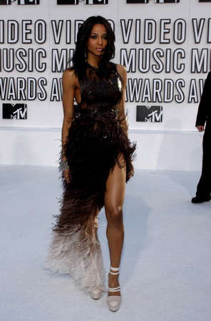 mtv: Ciara at the 2010 MTV Video Music Awards held at the Nokia Theatre L.A. Live in Los Angeles, USA on September 12, 2010.