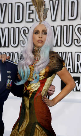 gaga: Lady Gaga at the 2010 MTV Video Music Awards held at the Nokia Theatre L.A. Live in Los Angeles, USA on September 12, 2010.