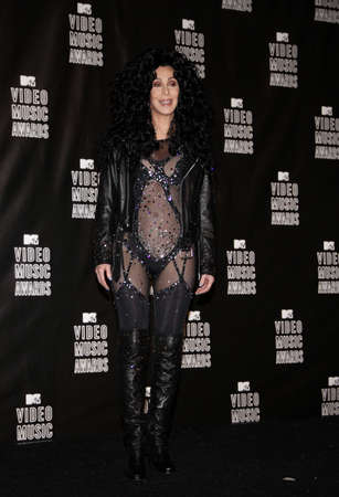 mtv: Cher at the 2010 MTV Video Music Awards held at the Nokia Theatre L.A. Live in Los Angeles, USA on September 12, 2010.