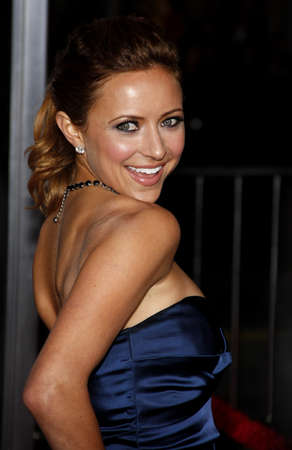 christine: Christine Lakin at the Los Angeles premiere of Valentines Day held at the Graumans Chinese Theate in Hollywood, USA on February 8, 2010.