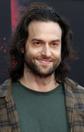 Chris DElia at the Los Angeles premiere of Bad Moms held at the Mann Village Theater in Westwood, USA on July 26, 2016.