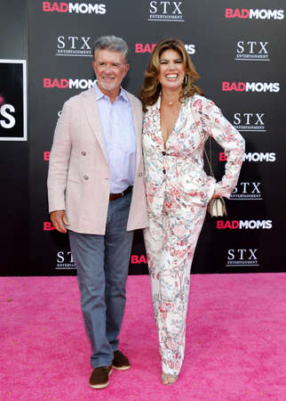 alan: Alan Thicke and Tanya Callau at the Los Angeles premiere of Bad Moms held at the Mann Village Theater in Westwood, USA on July 26, 2016. Editorial