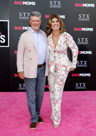 Alan Thicke and Tanya Callau at the Los Angeles premiere of Bad Moms held at the Mann Village Theater in Westwood, USA on July 26, 2016. Editöryel
