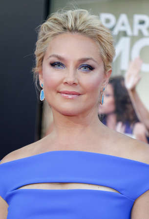 Elisabeth Rohm at the Los Angeles premiere of Bad Moms held at the Mann Village Theater in Westwood, USA on July 26, 2016.