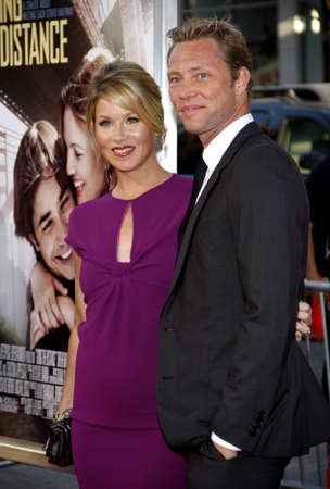christina: Martyn LeNoble and Christina Applegate at the Los Angeles premiere of Going The Distance held at the Graumans Chinese Theater in Hollywood, USA on August 23, 2010.