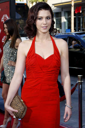 Mary Elizabeth Winstead at the Los Angeles premiere of Scott Pilgrim vs. The World held at the Graumans Chinese Theater in Hollywood, USA on July 27, 2010. Editorial