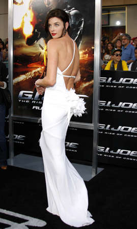 gi: Rachel Nichols at the Los Angeles premiere of G.I. Joe: The Rise of Cobra held at the Graumans Chinese Theater in Hollywood, USA on August 6, 2009.