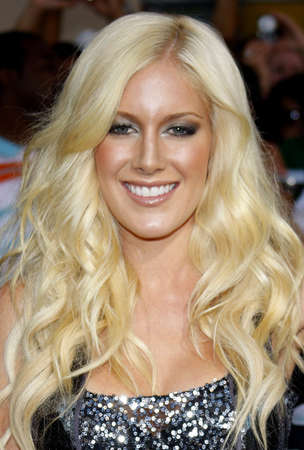 Montag: Heidi Montag at the Los Angeles premiere of G.I. Joe: The Rise of Cobra held at the Graumans Chinese Theater in Hollywood, USA on August 6, 2009. Editorial