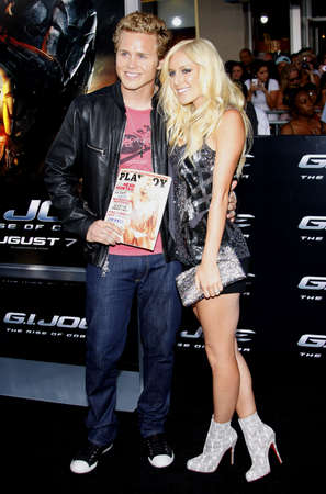 Spencer Pratt and Heidi Montag at the Los Angeles premiere of G.I. Joe: The Rise of Cobra held at the Graumans Chinese Theater in Hollywood, USA on August 6, 2009.