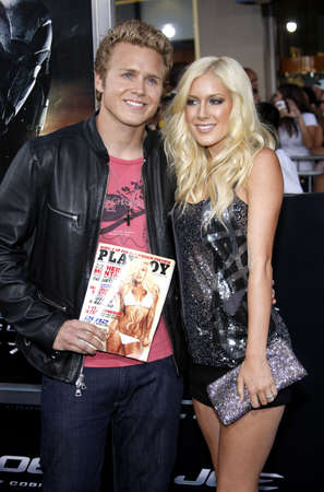Montag: Spencer Pratt and Heidi Montag at the Los Angeles premiere of G.I. Joe: The Rise of Cobra held at the Graumans Chinese Theater in Hollywood, USA on August 6, 2009.