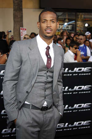gi: Marlon Wayans at the Los Angeles premiere of G.I. Joe: The Rise of Cobra held at the Graumans Chinese Theater in Hollywood, USA on August 6, 2009.