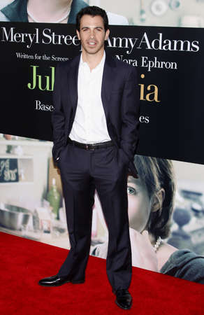 Chris Messina at the Los Angeles screening of Julie & Julia held at the Mann Village Theater in Westwood, USA on July 27, 2009.
