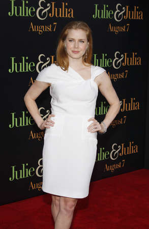 adams: Amy Adams at the Los Angeles screening of Julie & Julia held at the Mann Village Theater in Westwood, USA on July 27, 2009. Editorial
