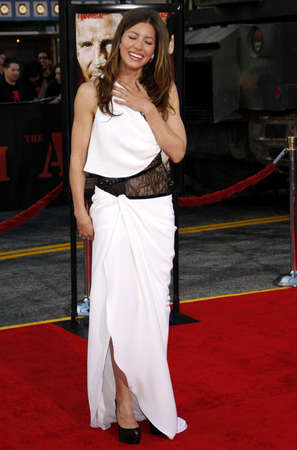 premieres: Jessica Biel at the World premiere of The A-Team held at the Graumans Chinese Theater in Hollywood, USA on June 3, 2010.
