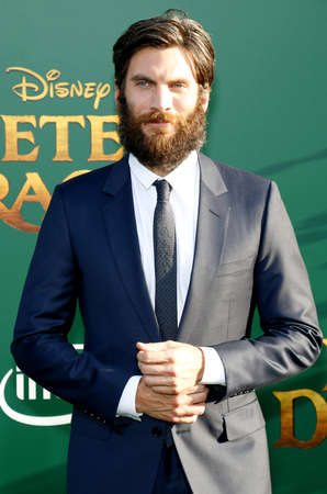 petes: Wes Bentley at the World premiere of Petes Dragon held at the El Capitan Theatre in Hollywood, USA on August 8, 2016.