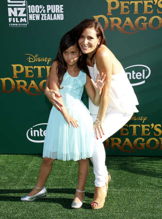 petes: Constance Marie at the World premiere of Petes Dragon held at the El Capitan Theatre in Hollywood, USA on August 8, 2016.