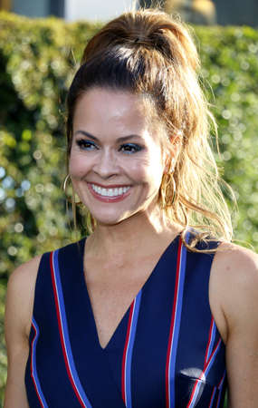 petes: Brooke Burke at the World premiere of Petes Dragon held at the El Capitan Theatre in Hollywood, USA on August 8, 2016. Editorial