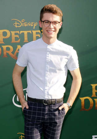 petes: Jordan Doww at the World premiere of Petes Dragon held at the El Capitan Theatre in Hollywood, USA on August 8, 2016.